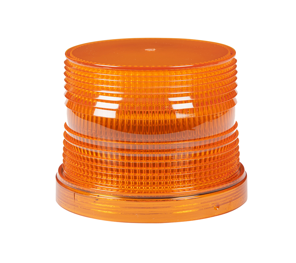 Grote Industries - 98283 – Warning & Hazard LED Beacon Replacement Lens, 3″ Height, Amber