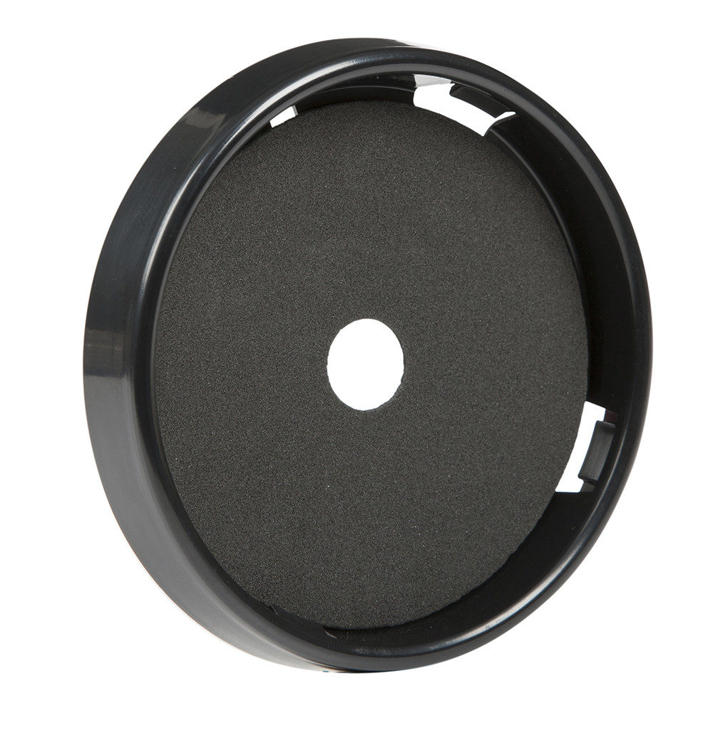 Grote Industries - 98420 – 4″ Round Black Surface Mount Bezel