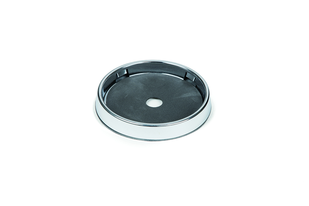 98430 – 4″ Round Chrome Surface Mount Bezel