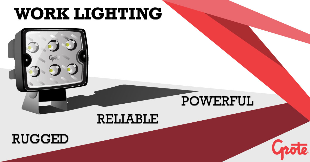 Grote Industries - LED-Weißlicht, Work Lighting Products
