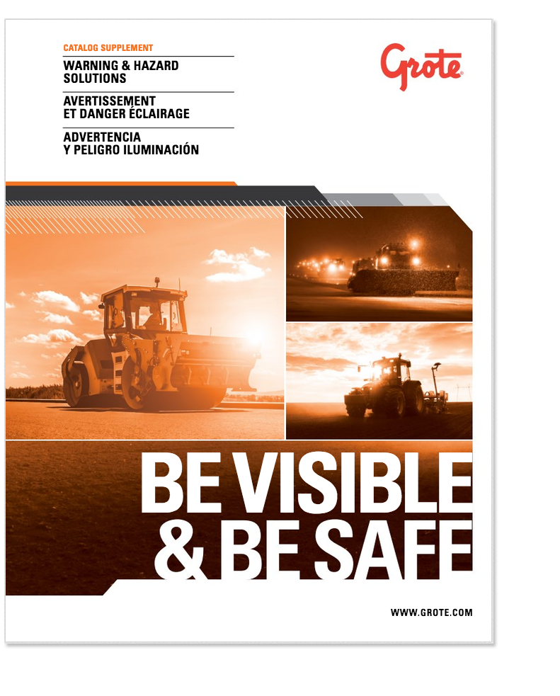 Warning and Hazard lighting brochure cover