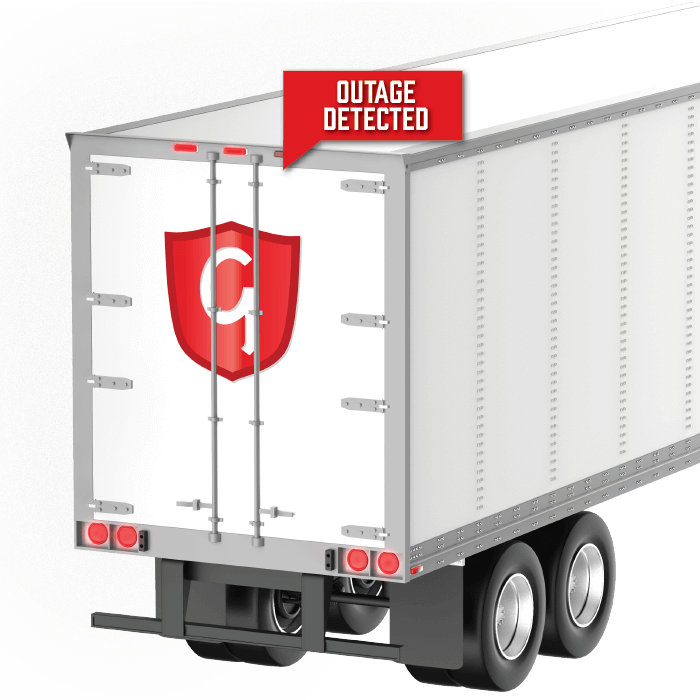 Grote Guardian trailer lamp outage notification