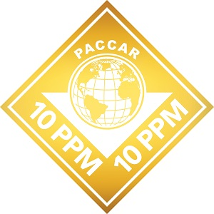 PACCAR 10ppm logo