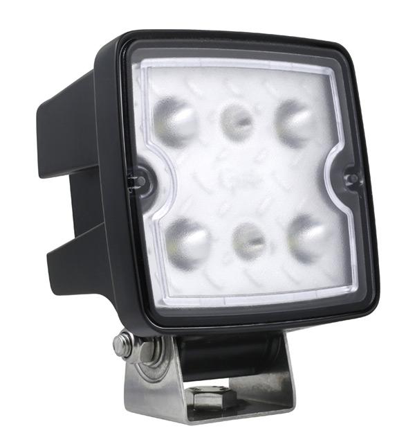 Grote Industries - 63W01 – Trilliant® Cube LED Work Light, 2000 Lumens, Long Range, Deutsch DT Connector