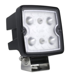 63W11 – Trilliant® Cube LED Work Light, 2000 Lumens, Long Range, Hard Shell, Superseal Connector
