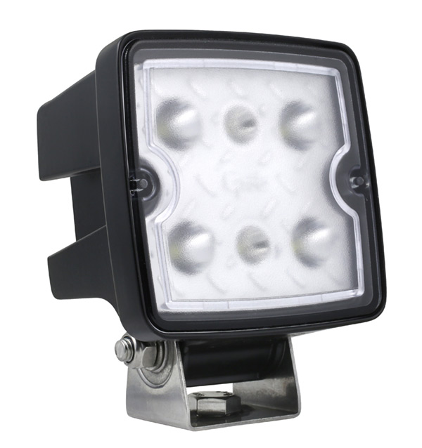 Grote Industries - 63W11 – Trilliant® Cube LED Work Light, 2000 Lumens, Long Range, Hard Shell, Superseal Connector