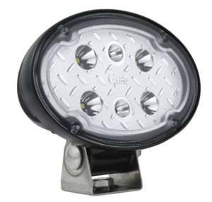 64W01 – Trilliant® Oval LED Work Light, Long Range, 2000 Lumen