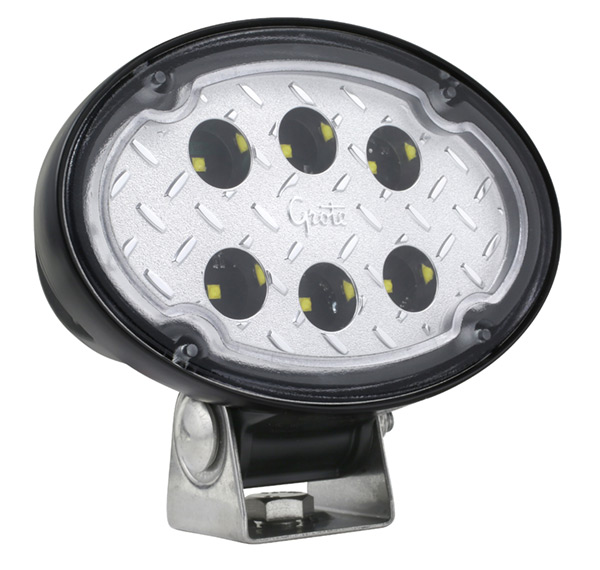 Grote Industries - 64W11 – Trilliant® Oval LED Work Light, Close Range, 2000 Lumen